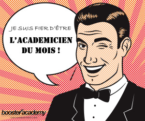 Académicien du mois Décembre