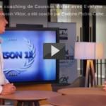Evelyne Platnic-Cohen au coaching de Coussin Viktor à la BFM Academie