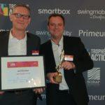 """Trophée Action Co : Booster Academy remporte l'Or dans la catégorie """"Social Selling"""", avec son client BNP Paribas Factor"""