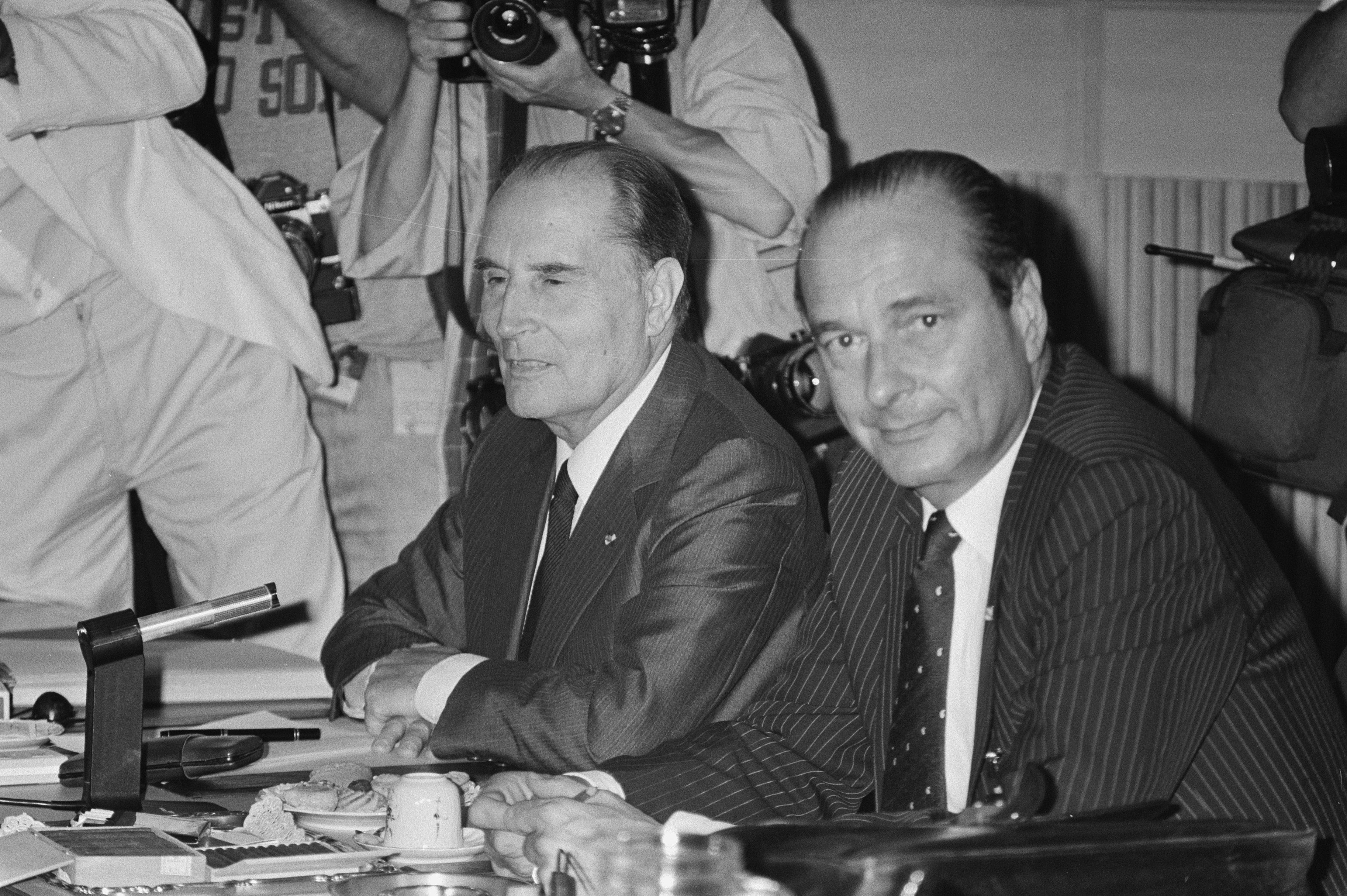 débat Chirac Mitterrand